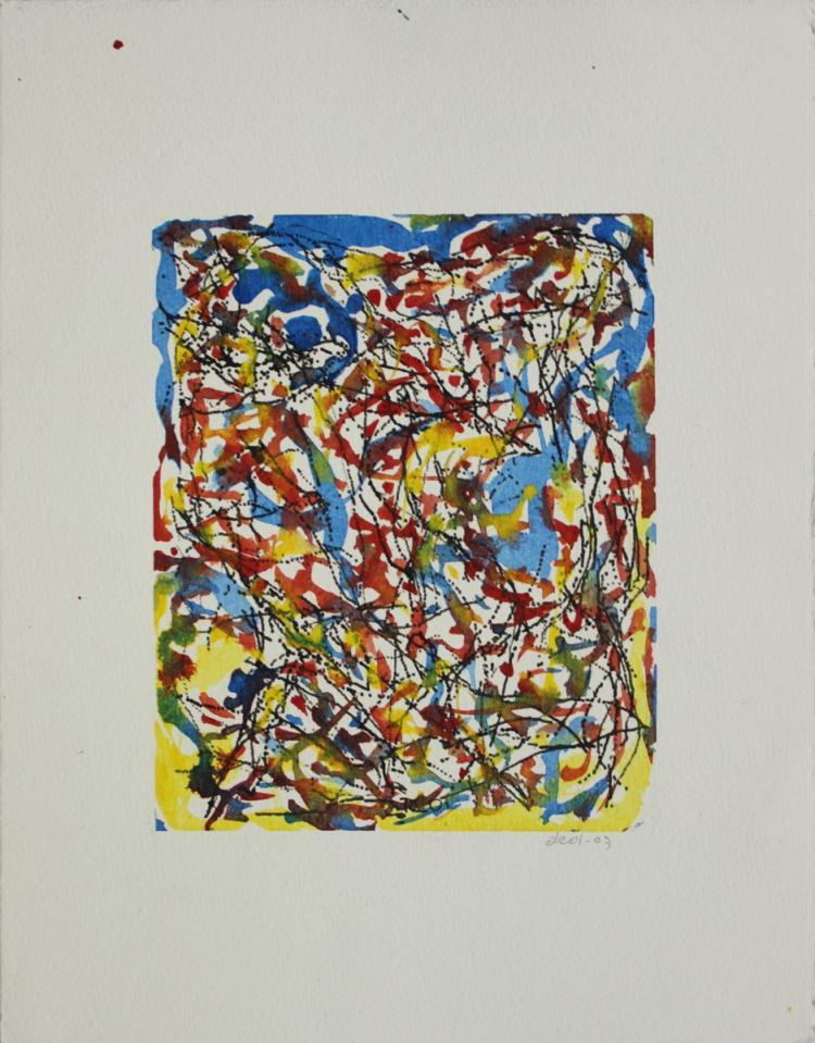 Dennis Cossu - For Bernard - SIGNED