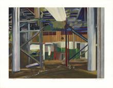 Larry Dinkin - Interior Landscape - 1999 - SIGNED