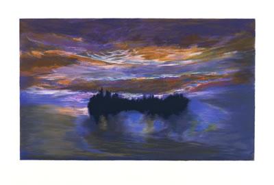 Jules Olitski - Luminous Dawn - 1997 - SIGNED