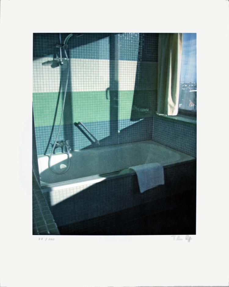 Thomas Ruff - No Title (Bathroom, Radisson SAS) - 2009 - SIGNED