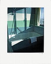 Thomas Ruff - No Title (Bathroom, Radisson SAS) - 2009 - SIGNED