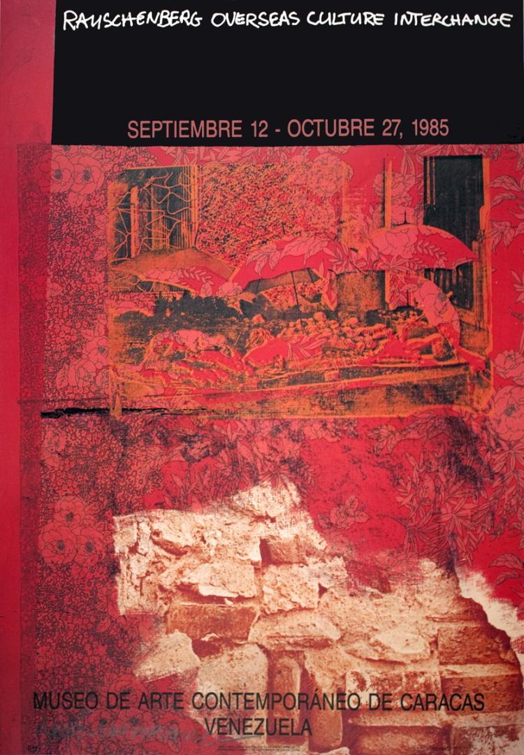 Robert Rauschenberg - ROCI: Venezuela - 1985 - SIGNED