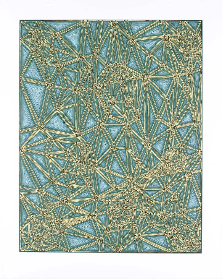 James Siena - Shifted Lattice - 2006 - SIGNED