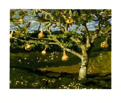 Jamie Wyeth - The Gourd Tree - 2002 - SIGNED