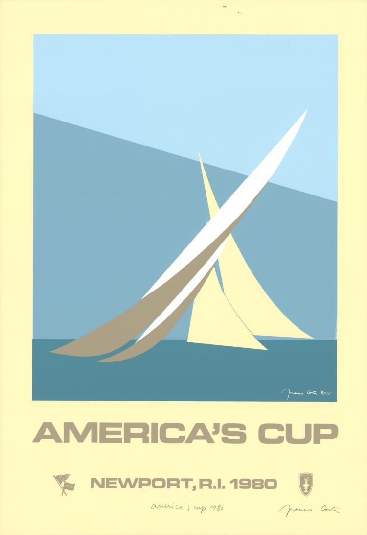 Franco Costa - America's Cup - 1980 - SIGNED