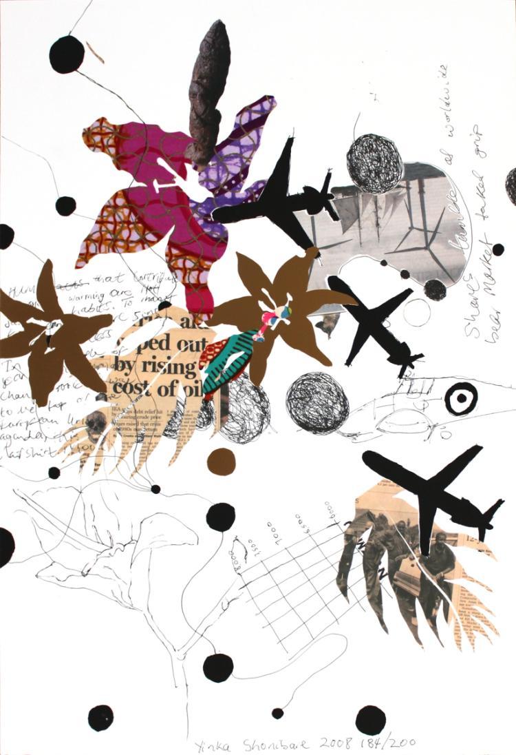 Yinka Shonibare - Climate Shit Drawing 1 - 2008 - SIGNED