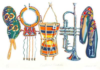 Don Nice - Festival Predella - 1988 - SIGNED