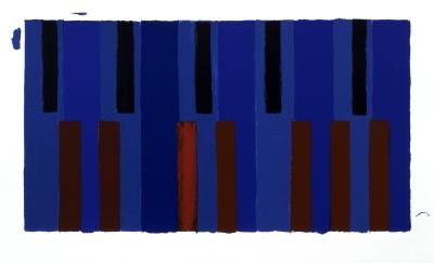 Pat Lipsky - Keyboard Variations - 2004 - SIGNED