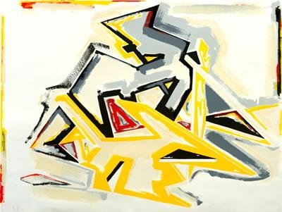 Dennis Ashbaugh - Untitled - 1981 - SIGNED