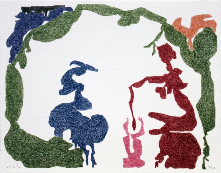 Monique Prieto - Untitled - 2002 - SIGNED