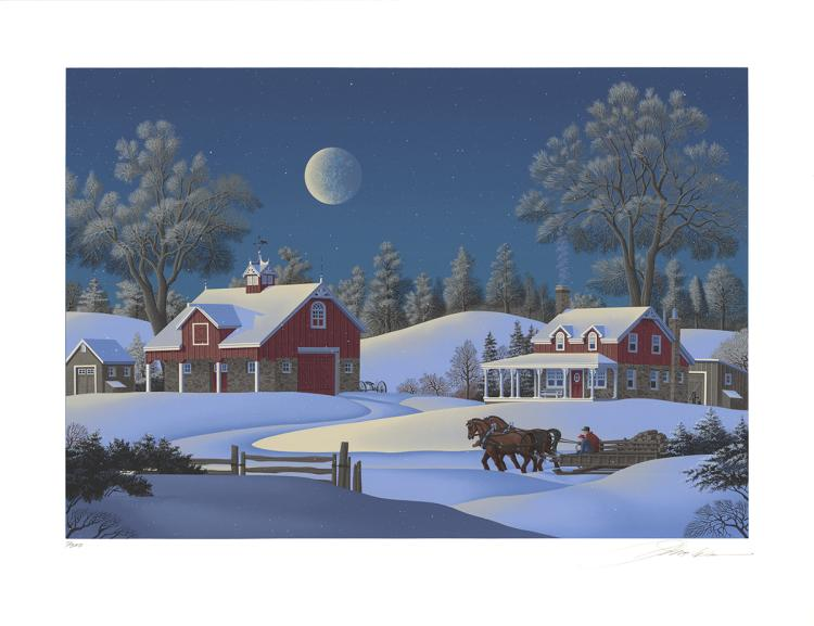 Jim Buckels - Winterset Farm - SIGNED