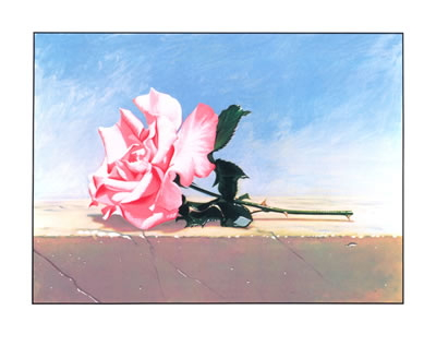 John Kelley - Andalusia Rose - 1989 - SIGNED