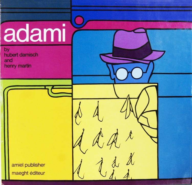Adami by Hubert Damisch and Henry Martin - 1974 - SIGNED