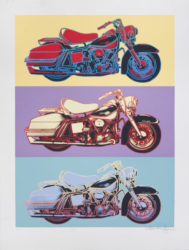 Friedbert Renbaum - Harley Davidson - 1990 - SIGNED