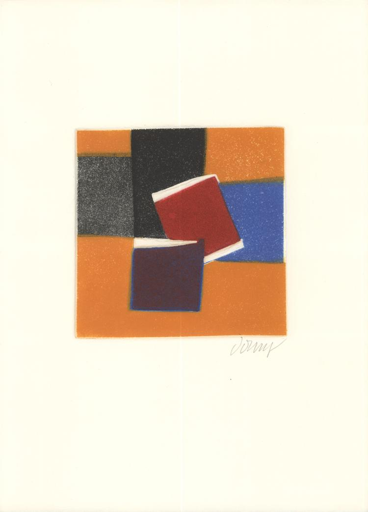 Bertrand Dorny - Untitled II - 1974 - SIGNED