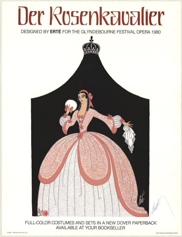 Erte - Glydenbourne Festival Opera - 1980 - SIGNED