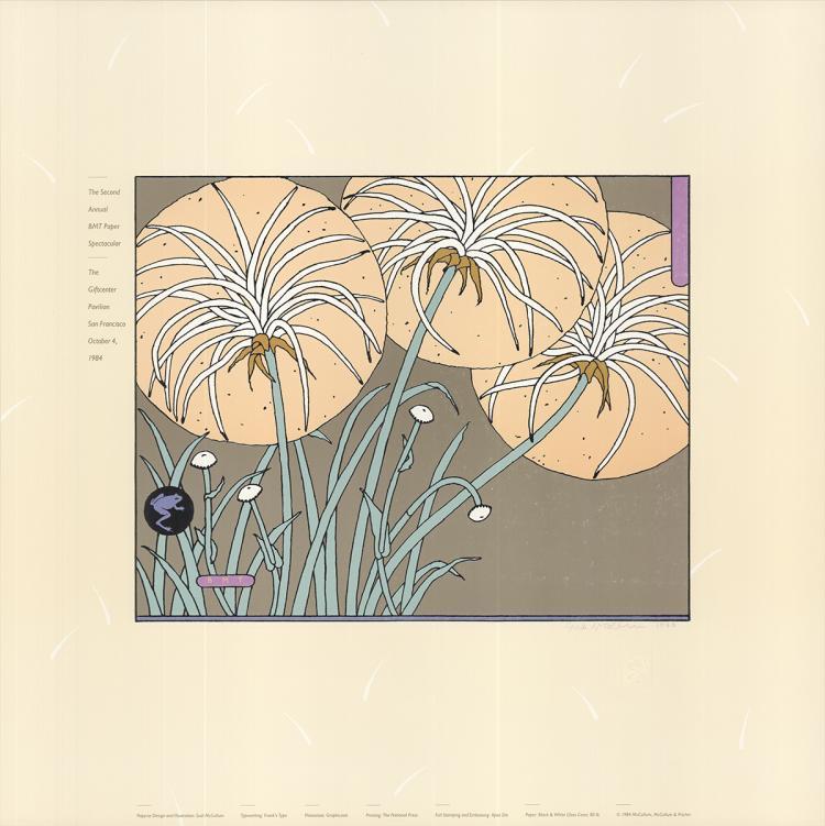 Sudi McCollum - 2nd Annual BMT Paper Spectacular - 1984 - SIGNED