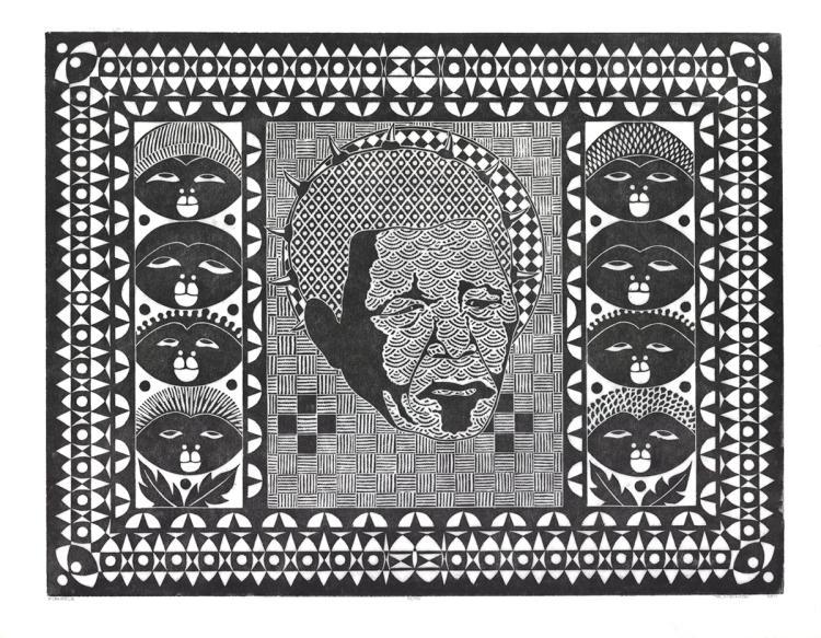 Roy Ndinisa - Mandela - 2011 - SIGNED