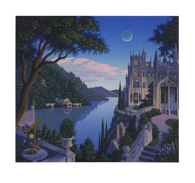 Jim Buckels - Cheshire Moon - SIGNED