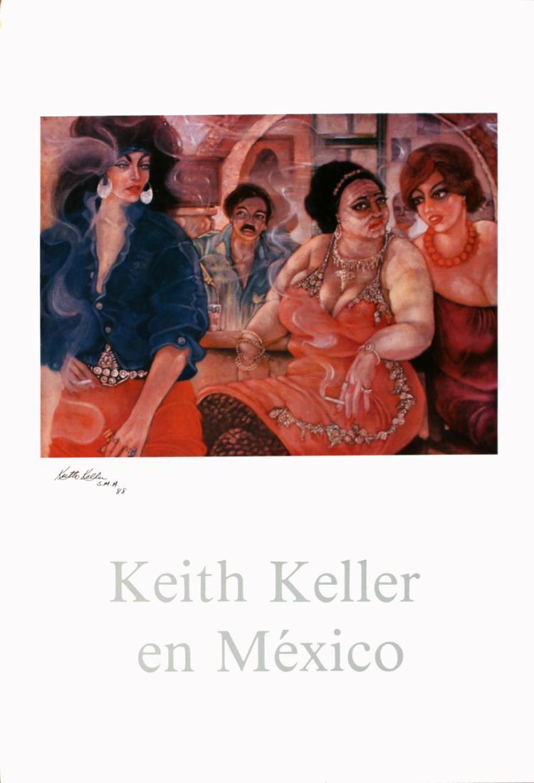 Keith Keller - Cinderella Electra - 1987 - SIGNED