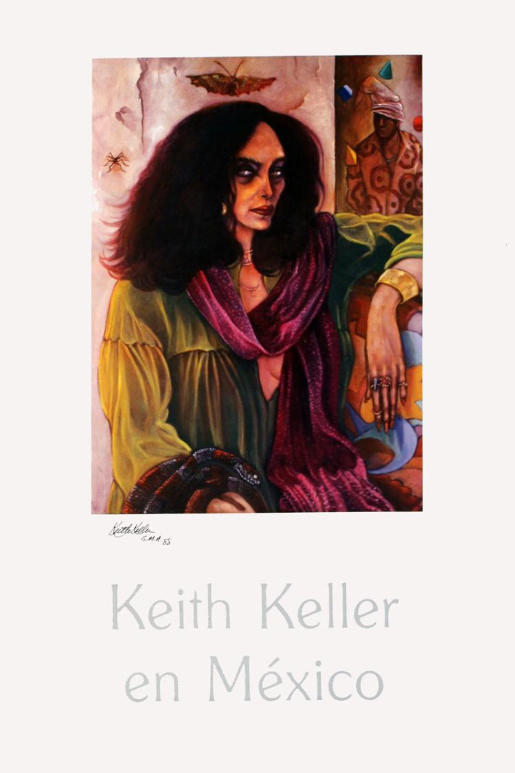Keith Keller - La Bruja - 1987 - SIGNED