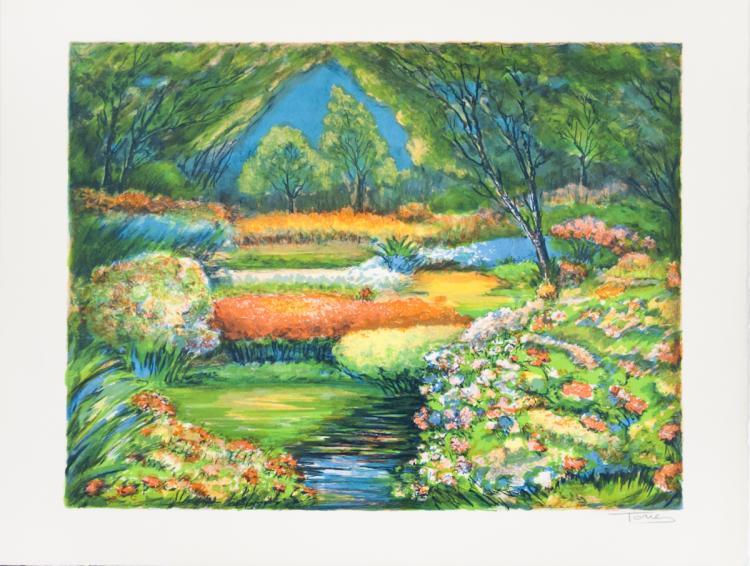 Louis Tone - Landscape - SIGNED
