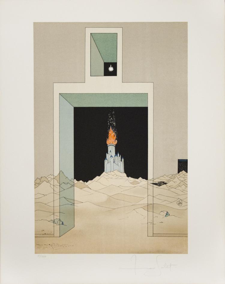 Borris Saillart - Untitled - SIGNED