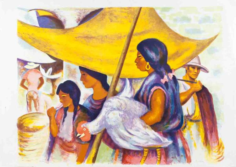 Peruvian Market - SIGNED