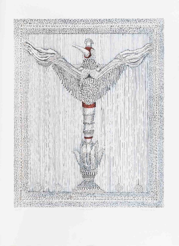 Bernard Fortin - L'Oiseau Mouche - SIGNED