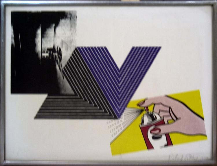 Richard Pettibone - Warhol, Stella, Lichtenstein Combination - 1970