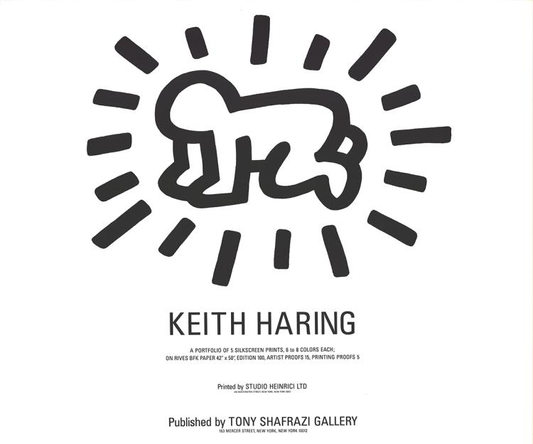 Keith Haring - Radiant Baby (Fertility Suite Cover) - 1983