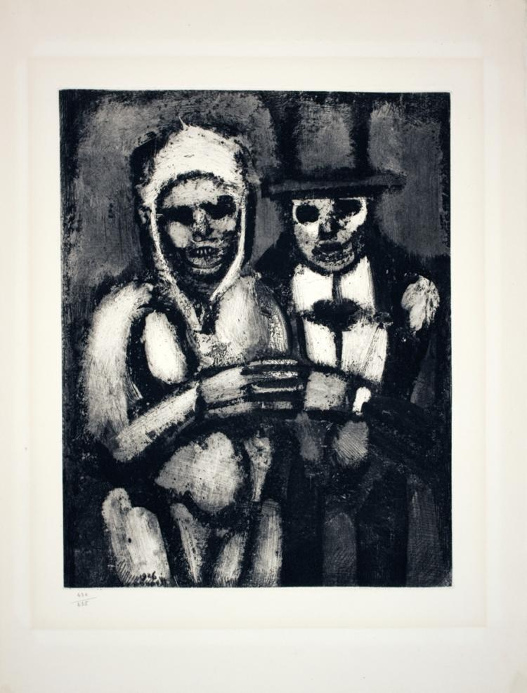 Georges Rouault - Bride and Groom - 1927