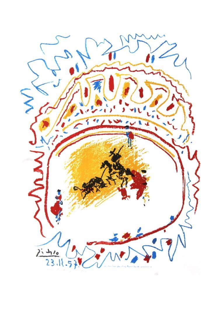 Pablo Picasso - Tauromachie (avant la lettre) - 1982
