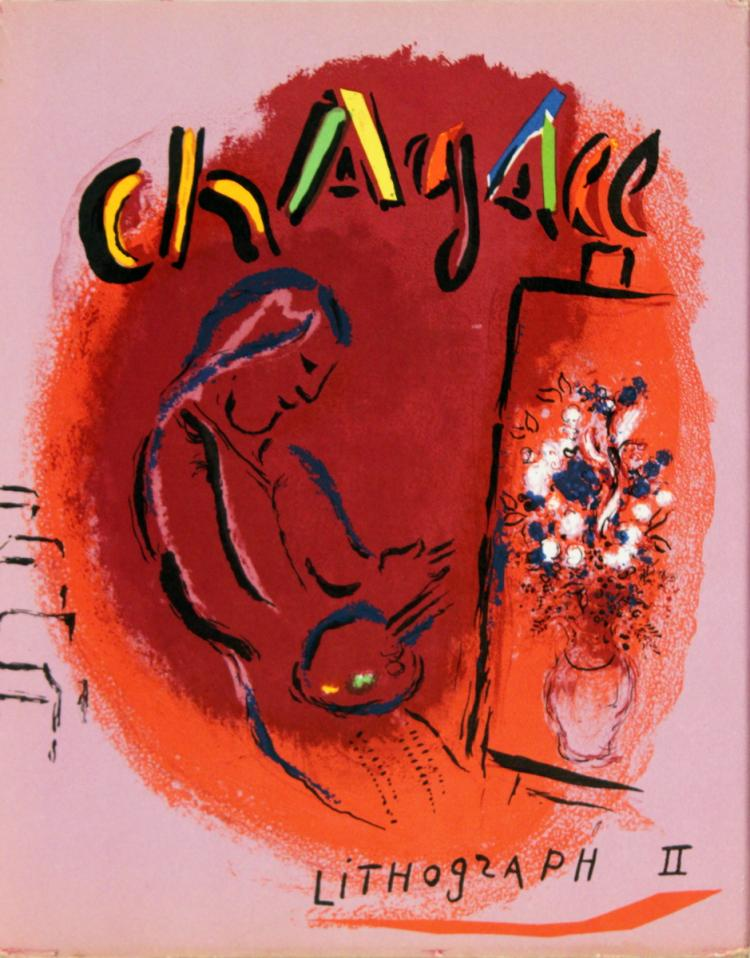 Marc Chagall Lithographies II - 1963