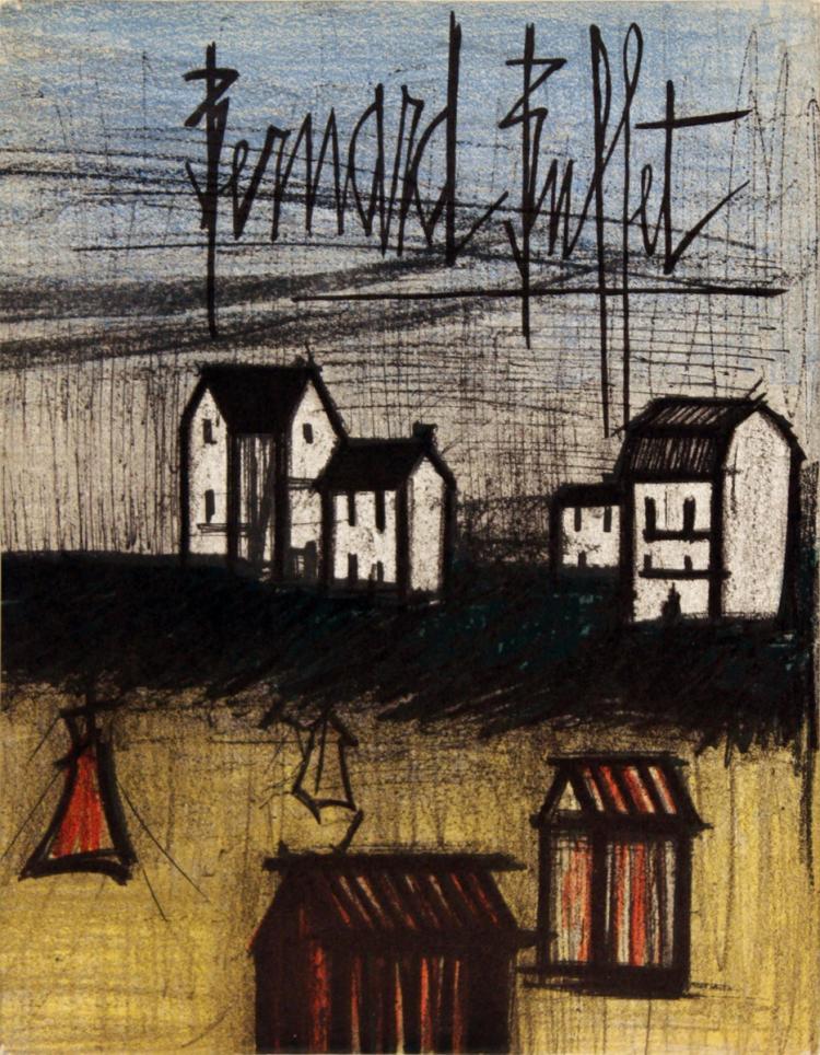 Bernard Buffet Oeuvre Grave - 1967