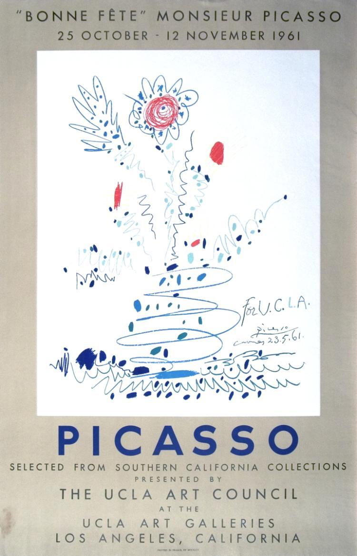 Pablo Picasso - Bonne Fete Monsieur Picasso - 1961