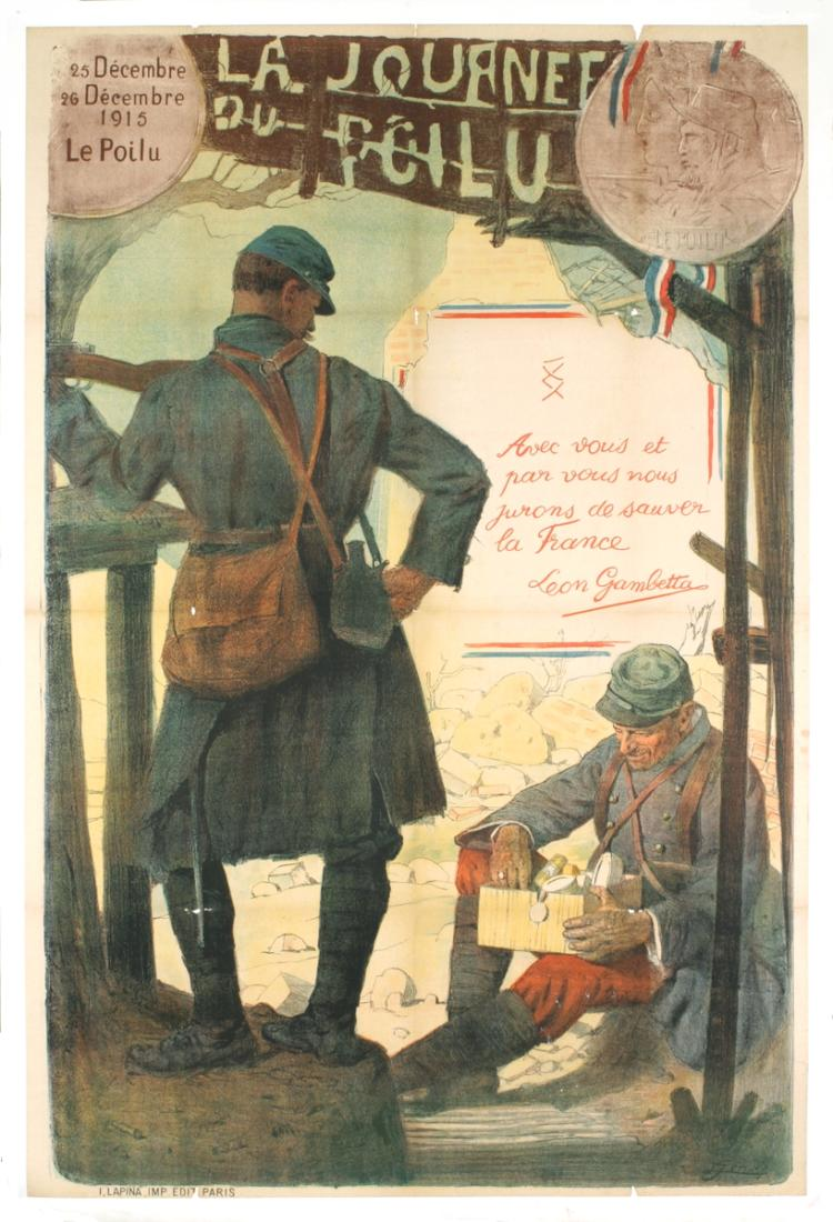 La Journee Du Poilu - 1915