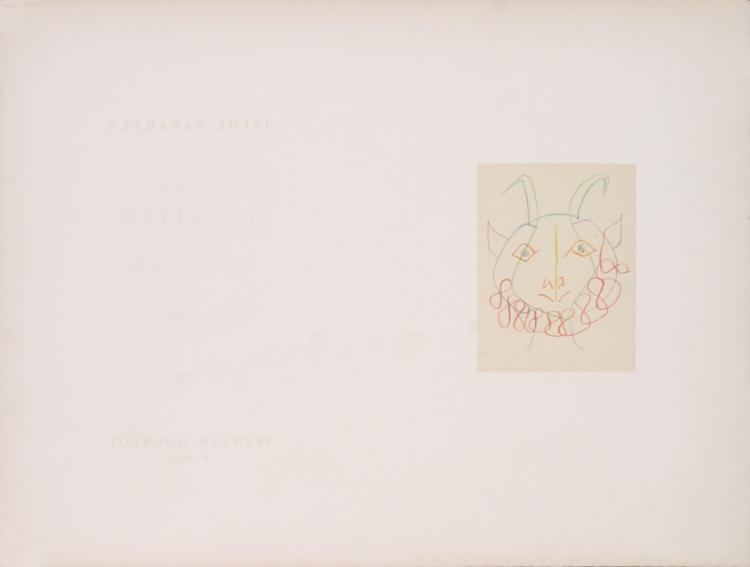 Pablo Picasso - From Dans L'Atelier de Picasso - 1959