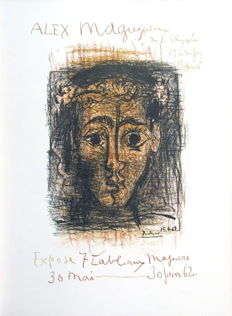 Pablo Picasso - Alex Maguy Gallery - 1962