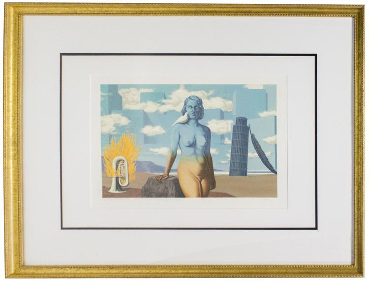 Rene Magritte - Le Domaine Enchante (VI) - 1968