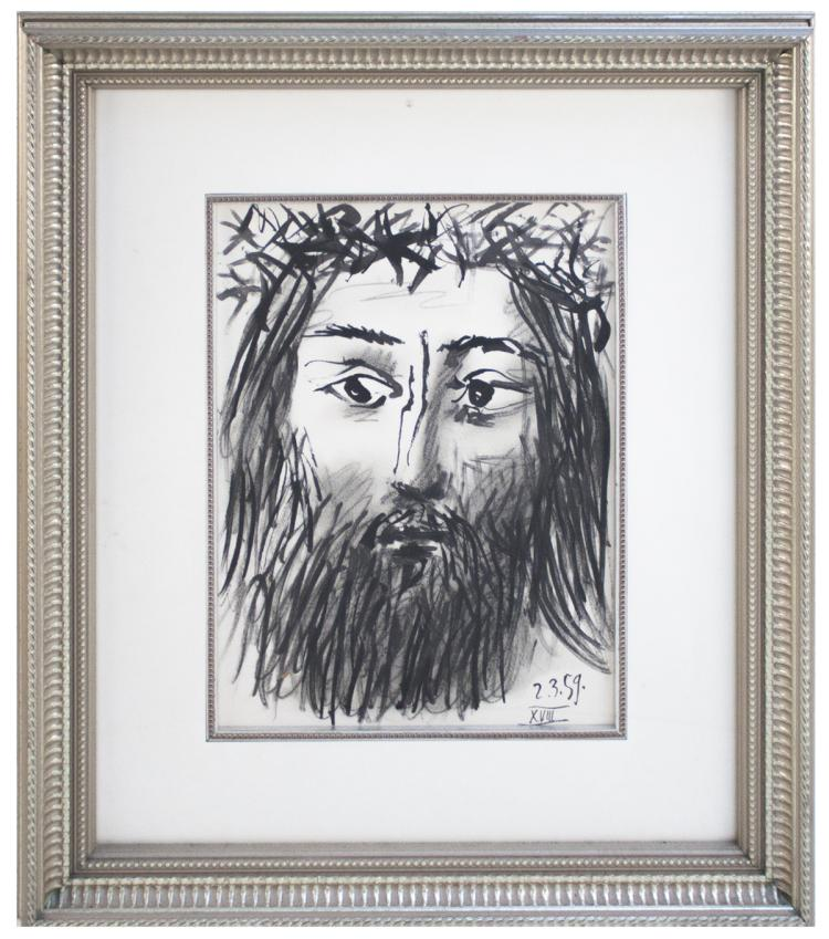Pablo Picasso - Portrait of Christ - 1962