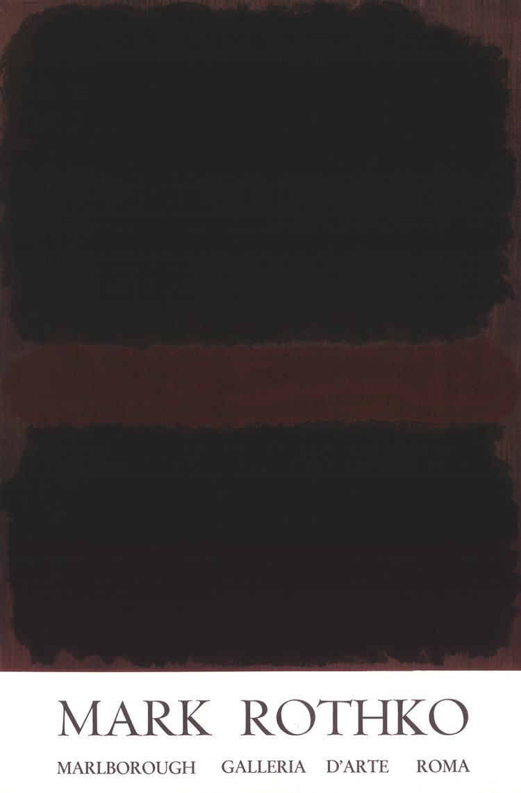 Mark Rothko - Marlborough Galleria D'arte Roma - 1970