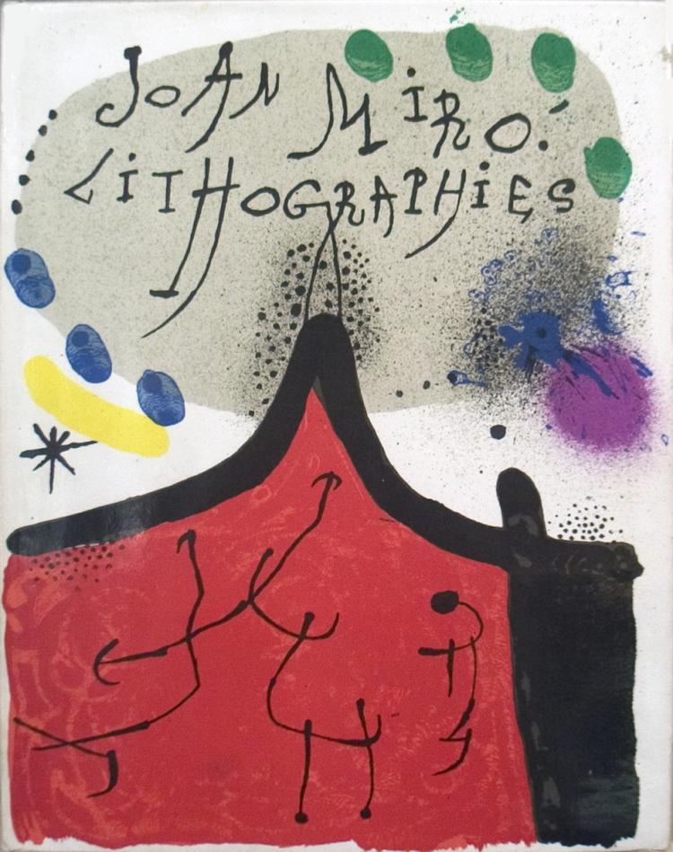 Miro Lithographies Volume I, 1930-1952 - 1972