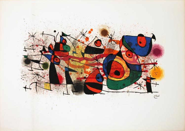 Joan Miro - Ceramics - 1974