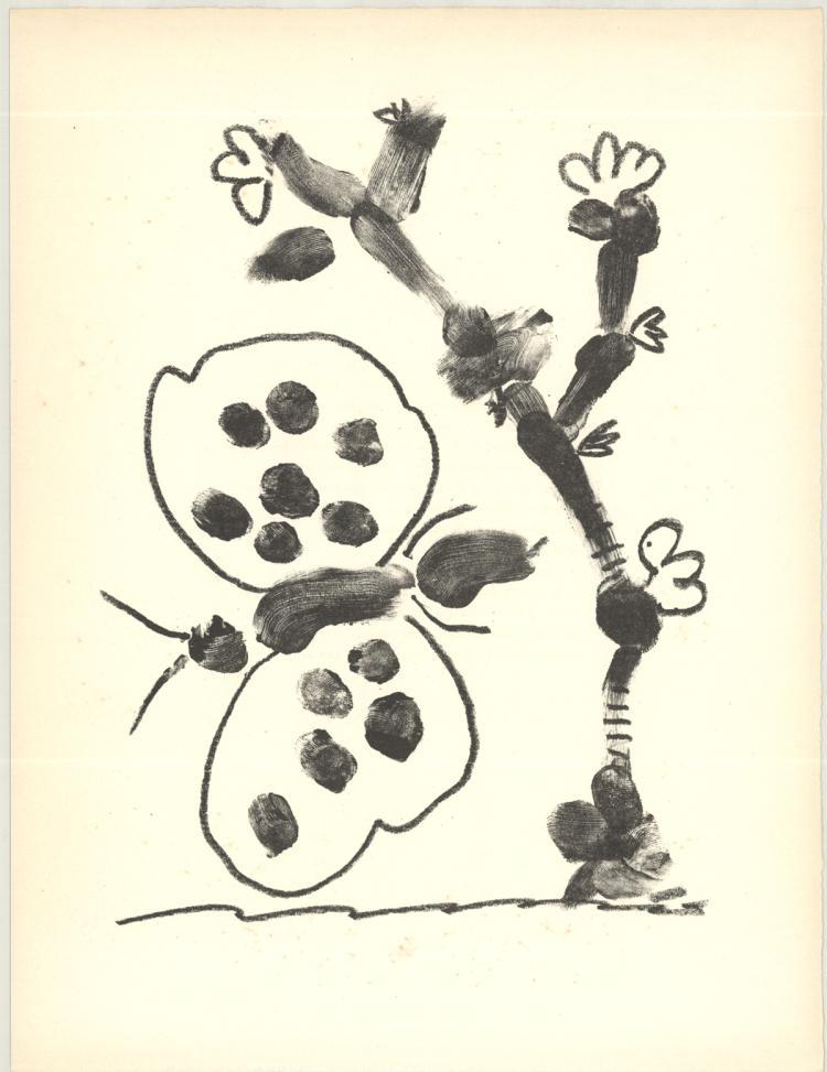 Pablo Picasso - De Memoire D'Homme III - 1950