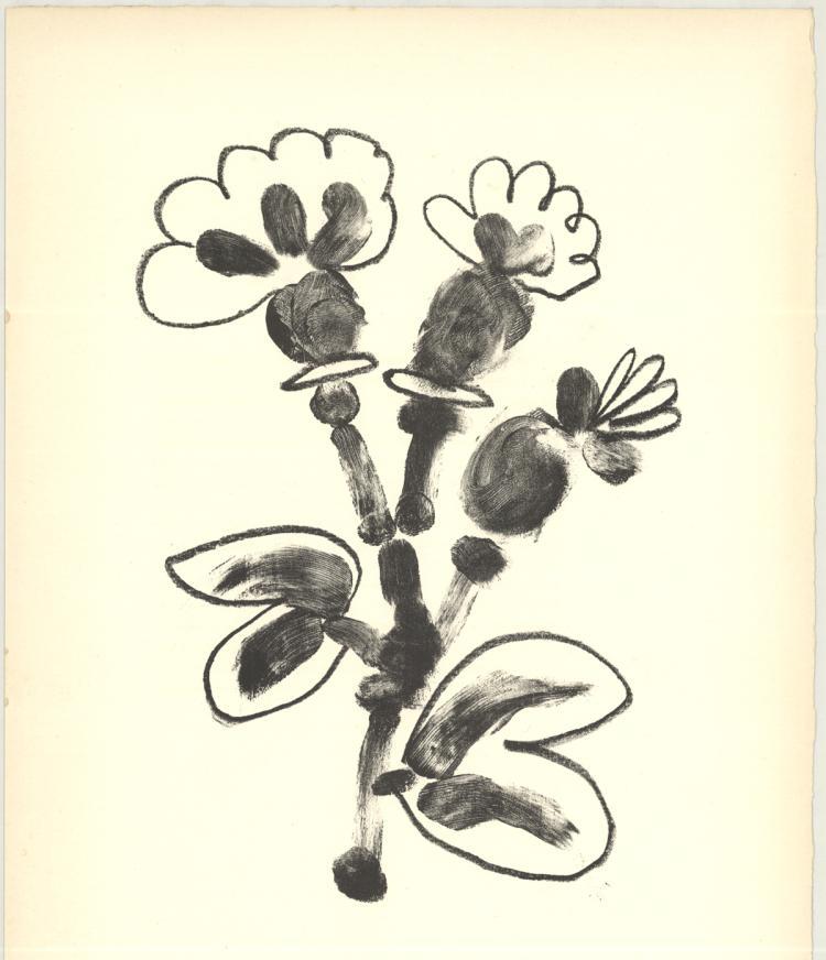 Pablo Picasso - De Memoire D'Homme VII - 1950