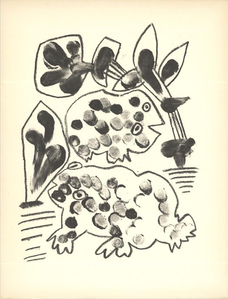 Pablo Picasso - De Memoire D'Homme VIII - 1950