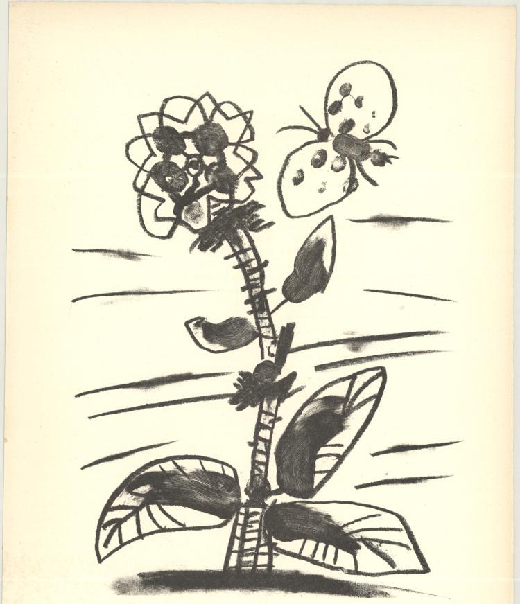 Pablo Picasso - De Memoire D'Homme IX - 1950