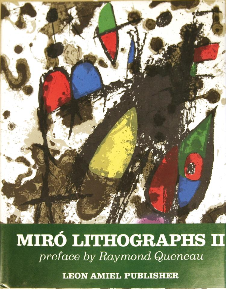 Miro Lithographs, Vol 2 1953-1963 - 1975