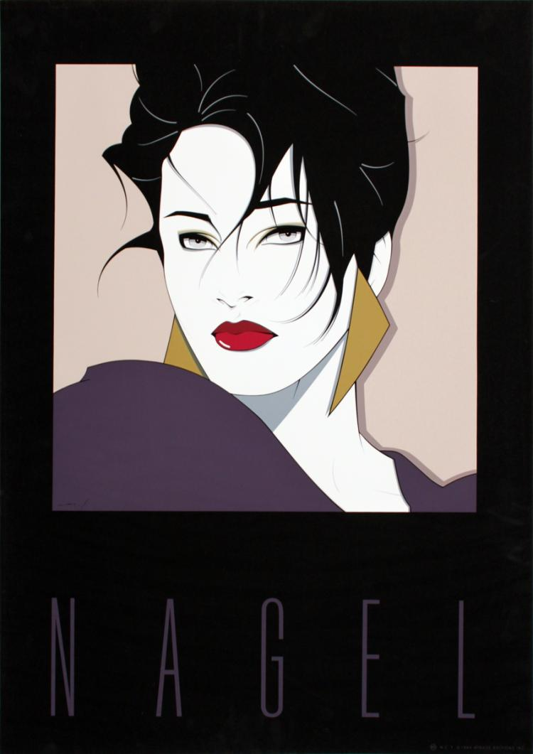 Patrick Nagel - Commemorative No. 1 - 1984